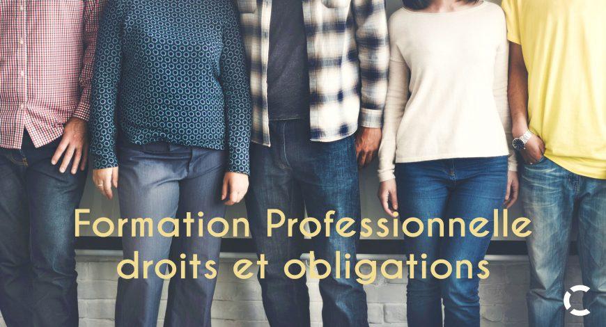 Entrepreneurs vos droits et obligations en terme de formation professionnelle