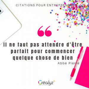 citation positive créalyz