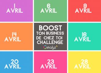 challenge boost ton business de chez toi